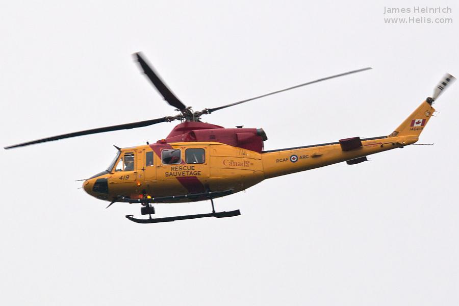 Helicopter Bell CH-146 Griffon Serial 46419 Register 146419 used by Canadian Armed Forces. Aircraft history and location