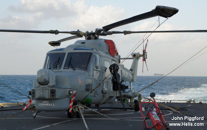 Helicopter Westland Lynx HAS3S Serial 337 Register ZF560 used by Hayward and Green Defence Ltd ,Fleet Air Arm RN (Royal Navy). Built 1987. Aircraft history and location