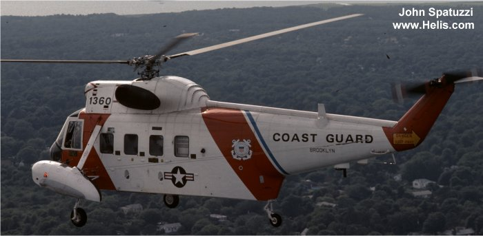 Sikorsky HH-52A Sea Guard c/n 62-036