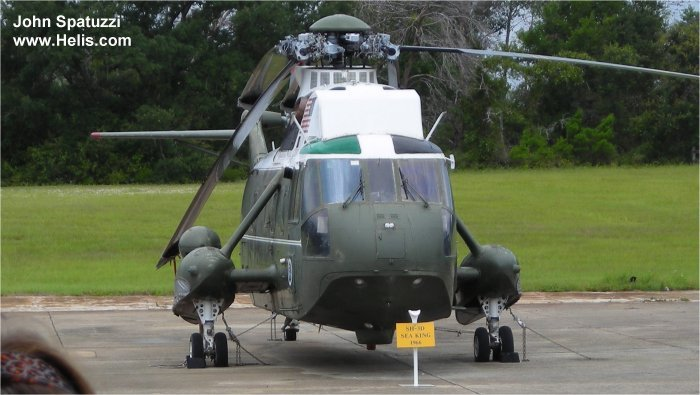 National Naval Aviation Museum Pensacola VH-3A Marine One