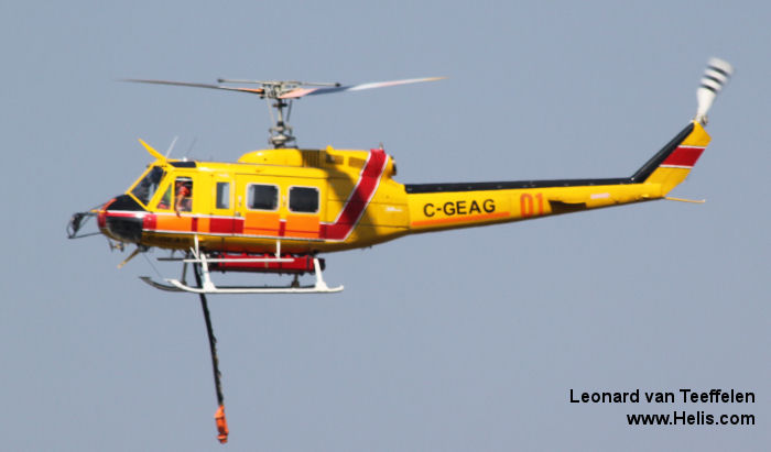 Bell 205A-1 c/n 30262