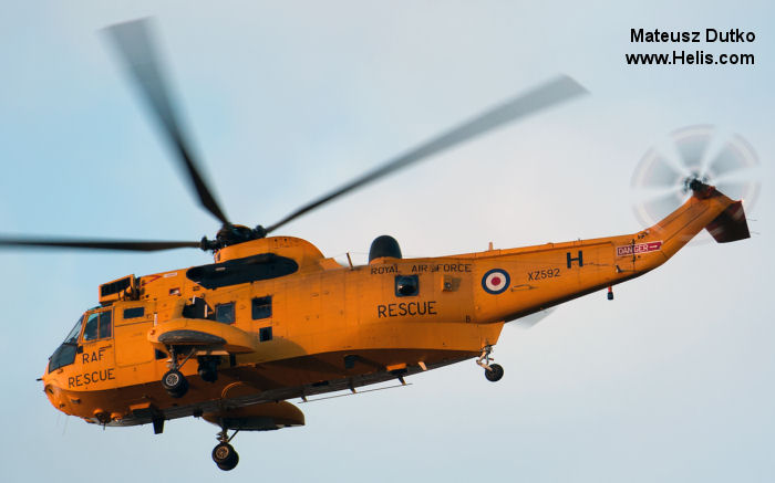 Westland Sea King HAR.3 c/n wa 858