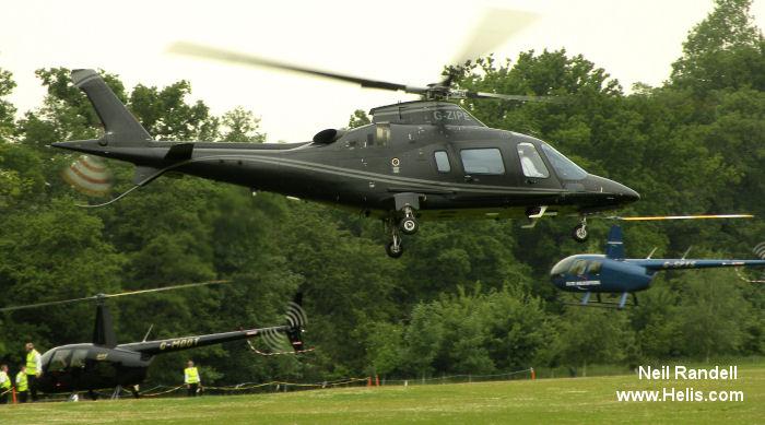 G-ZIPE I-PTFO AgustaWestland AW109E Power C/N 11798