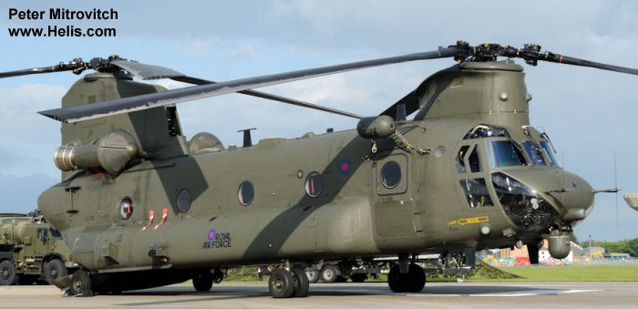 Boeing CH-47D Chinook c/n M.7018