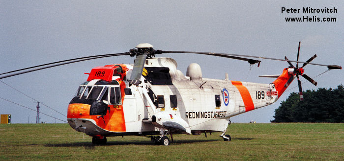 Westland Sea King Mk.43A c/n wa 874