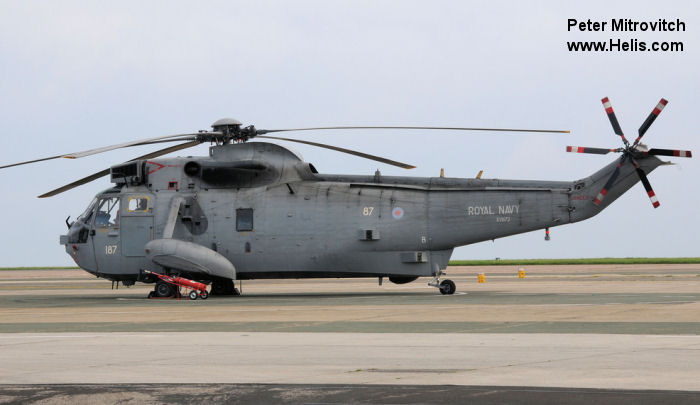 Westland Sea King HAS.1 c/n wa 660