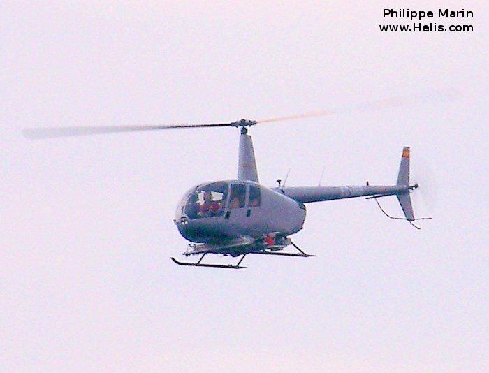 Helicopter Robinson R44 Raven II Serial 11126 Register ZP-HVR EC-JRB used by Rotorsun. Built 2005. Aircraft history and location