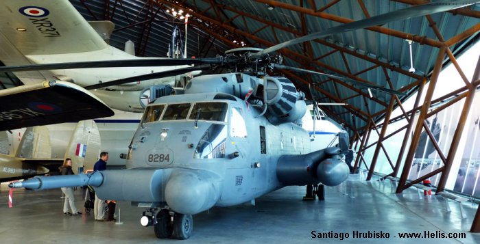 RAF Cosford Museum MH-53