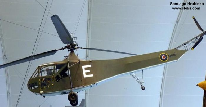 Helicopter Sikorsky R-4 Hoverfly  Serial 200 Register KK995 used by Fleet Air Arm (Royal Navy). Aircraft history