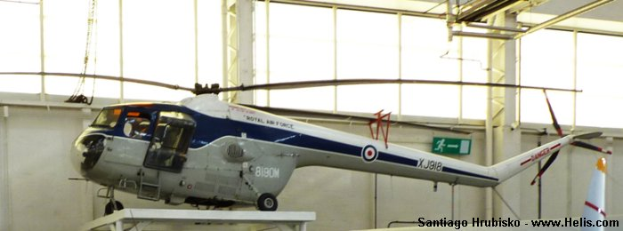 RAF Cosford Museum Sycamore