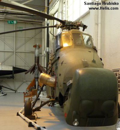 RAF Cosford Museum Wessex