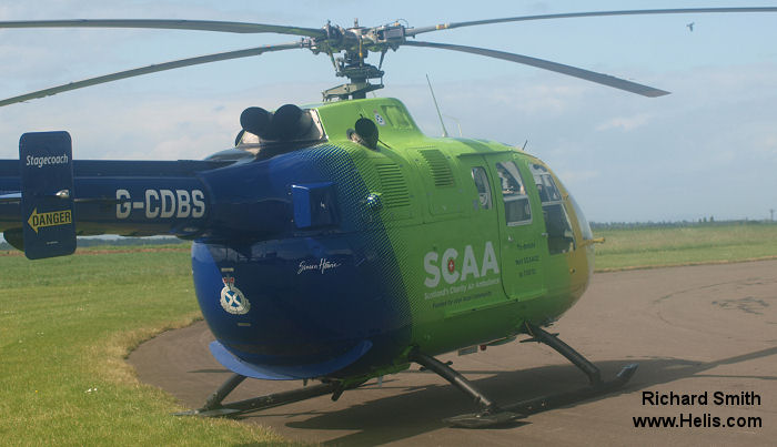 UK Air Ambulances Bo105