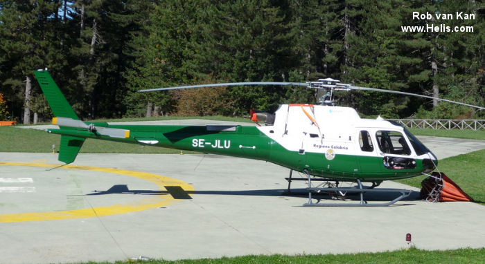 Eurocopter AS350B3 Ecureuil c/n 4912