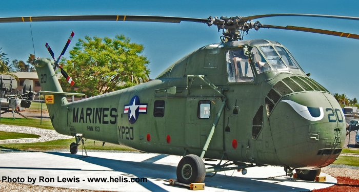 150219 Sikorsky HUS-1 / UH-34D Seahorse C/N 58-1559 ...