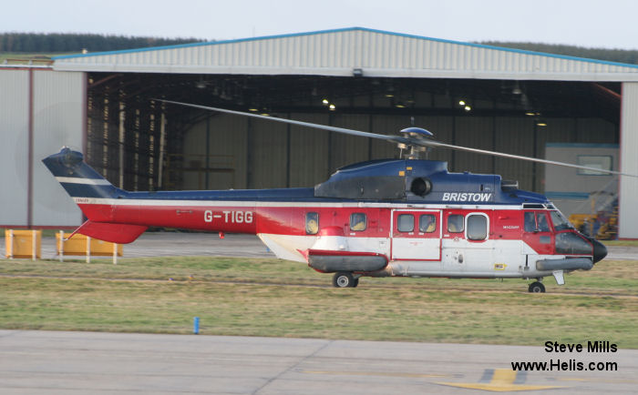 Aerospatiale AS332L Super Puma c/n 2032