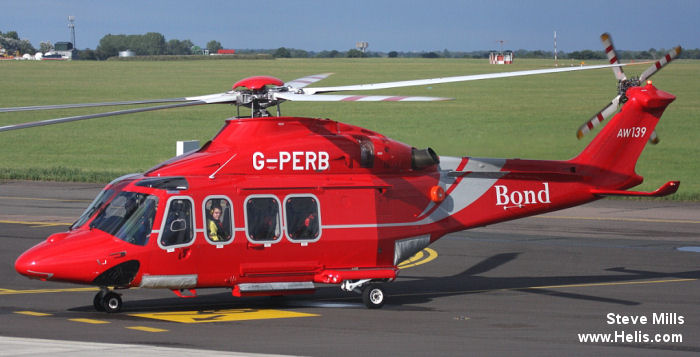 Bond Aviation Group AW139