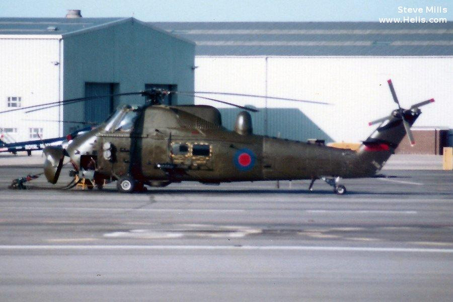 Helicopter Westland Wessex HAS.1 Serial wa 83 Register XP150 used by Fleet Air Arm RN (Royal Navy). Built 1962. Aircraft history and location