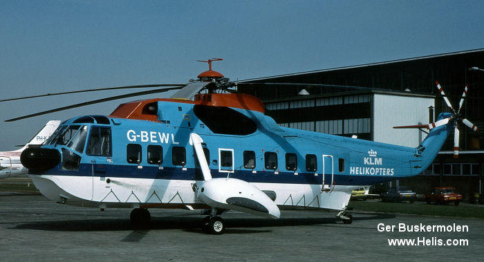 KLM helikopters S-61 H-3