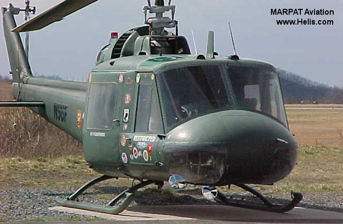 Bell UH-1B Iroquois c/n 488