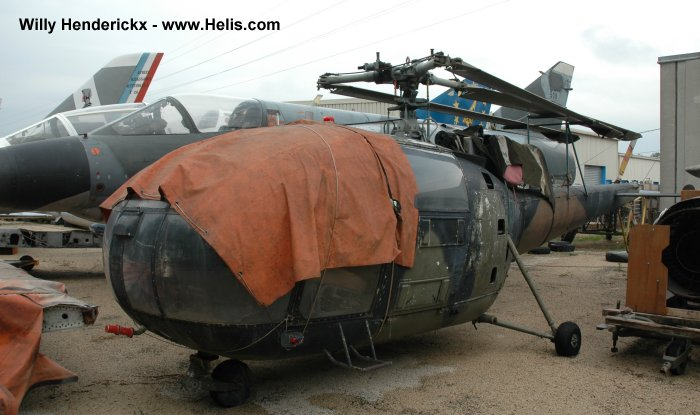Musee Aeronautique d Orange Alouette III