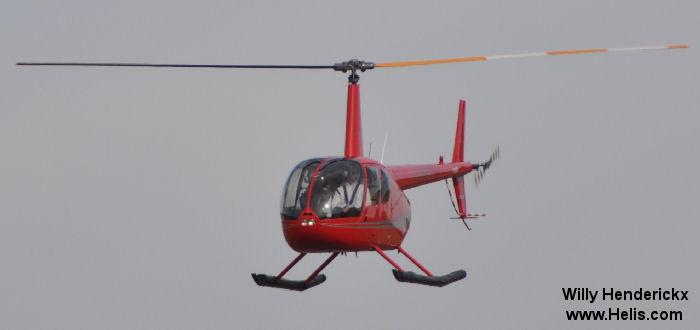 Helicopter Robinson R44 Clipper II Serial 11892 Register F-GYAD G-CEYA. Built 2007. Aircraft history