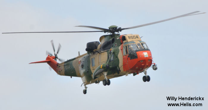 Westland Sea King Mk.48 c/n wa 834