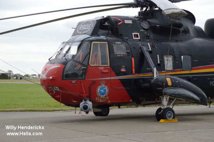 Westland Sea King Mk.48 c/n wa 835