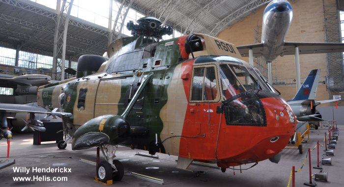 Westland Sea King Mk.48 c/n wa 831